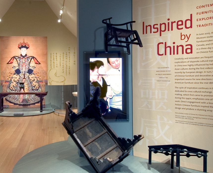 Inspired by China exhibit at the Peabody Essex Museum