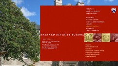 Harvard Divinity School web development