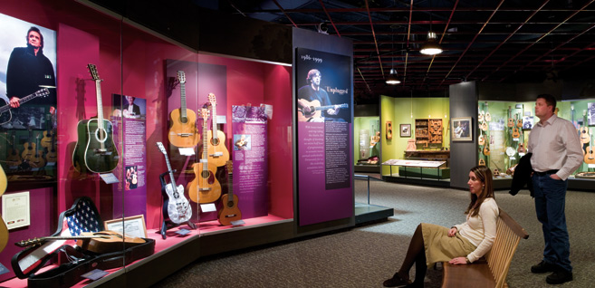 Martin Guitar Visitor Center, graphic design and content development