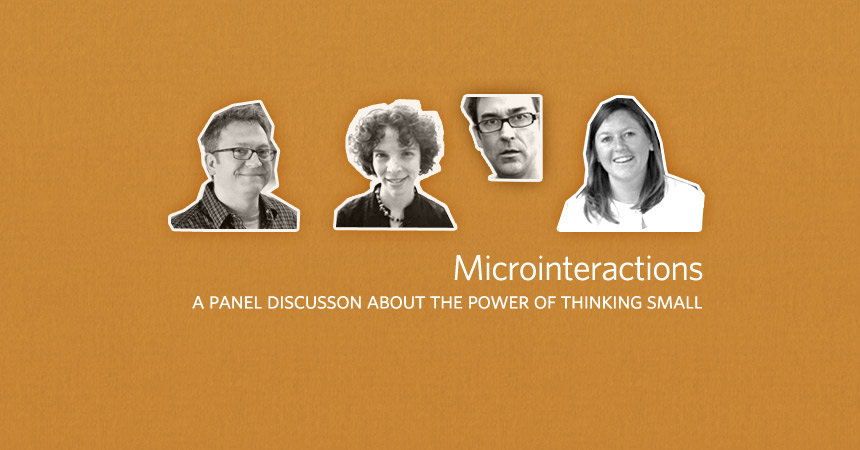 Microinteractions Panel at Smart Design